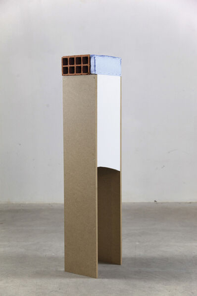Clemens Behr, 'Brick on Plinth', 2014