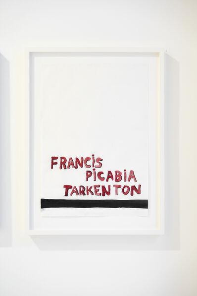 Todd Norsten, 'Untitled (Francis Picabia Tarkenton)', 2007