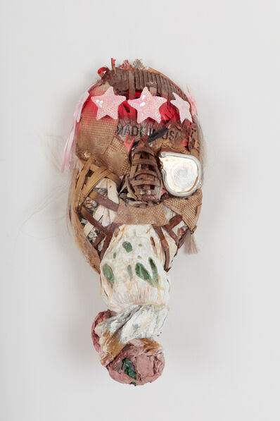 Lavar Munroe, 'Small Solider War Mask: P.O.W', 2018