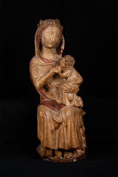 Anonymous, 'Enthroned Virgin and Child', First half of the 14th century