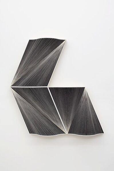 Julian Hoeber, 'Curtain Wall Vector Model— Elevation 03', 2016