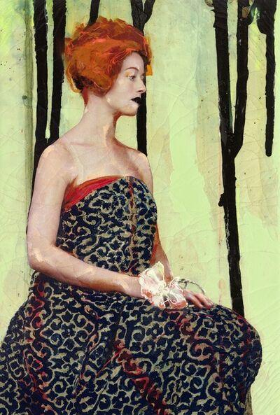 Lita Cabellut, 'Fairy Flower 09', 2016