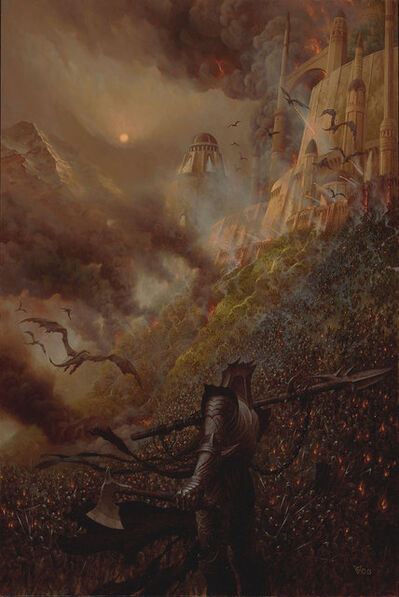 Christophe Vacher, 'The Fall of Loth'