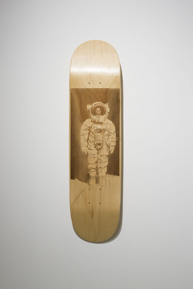 Brandon Vickerd, 'Dead Astronaut from the series Skateboard Deck', 2015