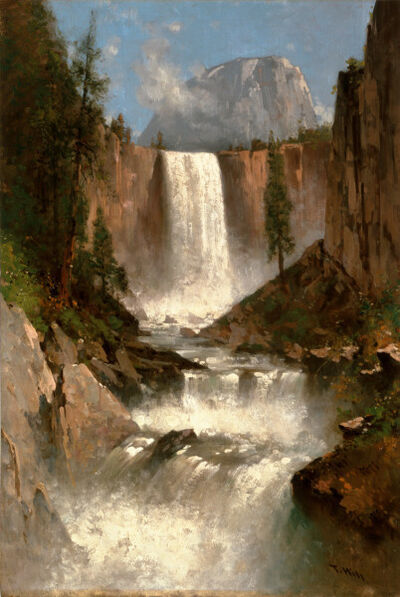 Thomas Hill, 'Vernal Falls, Yosemite', 1889