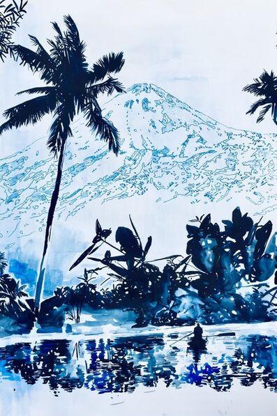 Malgosia Jankowska, 'Pico del Teide in blau', 2021
