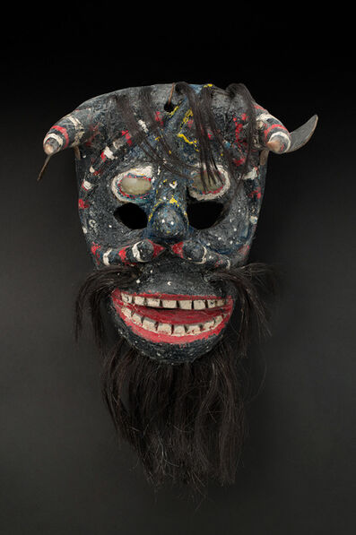 Unknown Artist, 'Guanajuato Bull Devil, Pastorela Dance', mid 20th C.