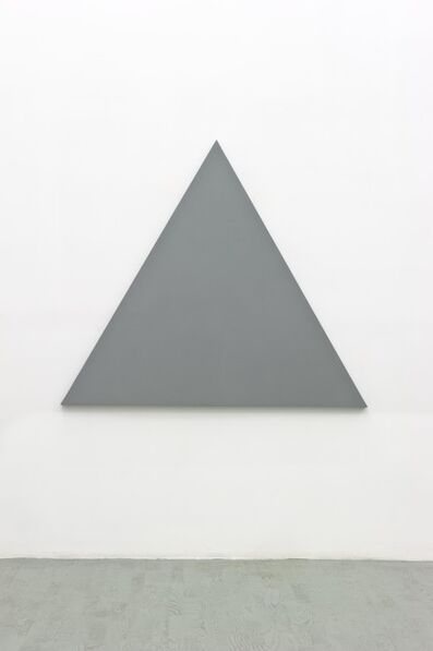 Alan Charlton, 'Triangle painting', 2012