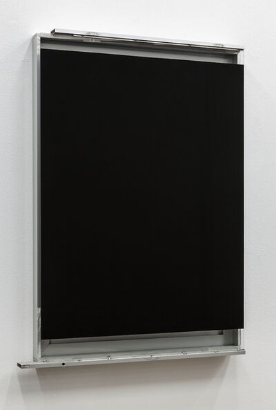 Pedro Cabrita Reis, 'Black Glass Window #1', 2014