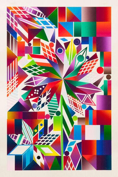 Polly Apfelbaum, 'Atomic Mystic Portrait 15', 2016