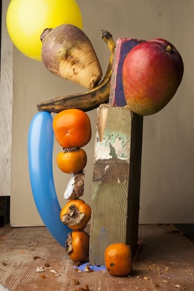 Lorenzo Vitturi, 'Caco Twisted Balloon and Falling Mango', 2013