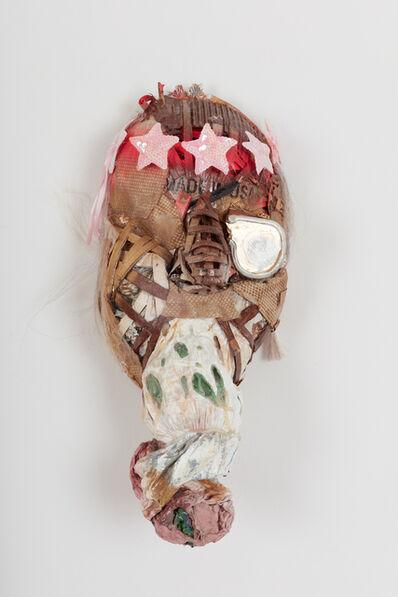 Lavar Munroe, 'Small Soldier War Mask : P.O.W.', 2018