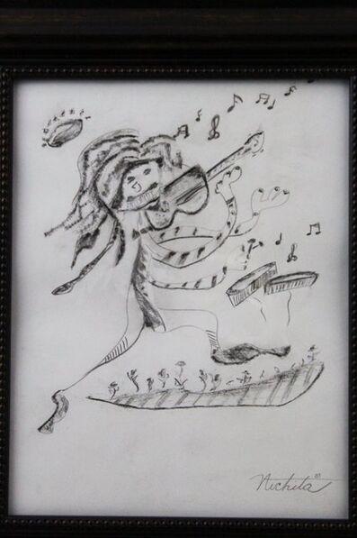 Alexandra Nechita, 'Hand Sketch Original', 2000's