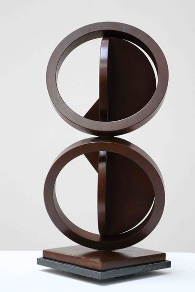 Fletcher Benton, 'Double Folded Circle Ring Maquette No. 55', 2015