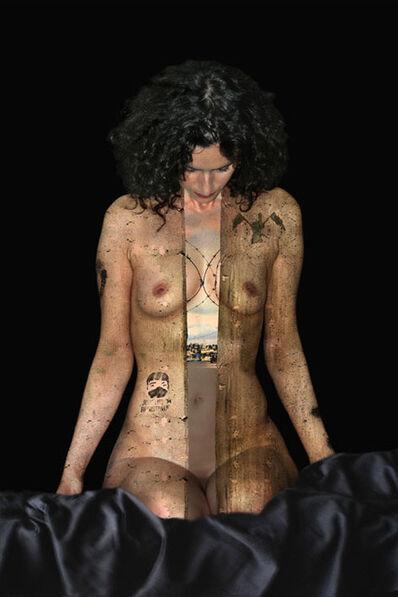 Yves Hayat, 'Madone Barbelé ', 2009
