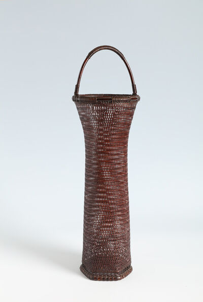 Tanabe Chikuunsai II, 'Splayed Handled Flower Basket (T-4133)', 1946-1956
