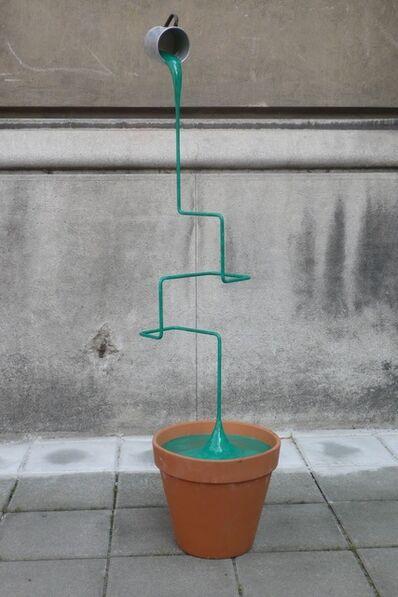 Markus Hofer, 'Geometric Liquid Plant', 2017