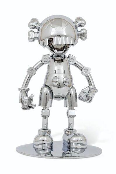 KAWS, 'No Future Companion (Silver) ', 2008