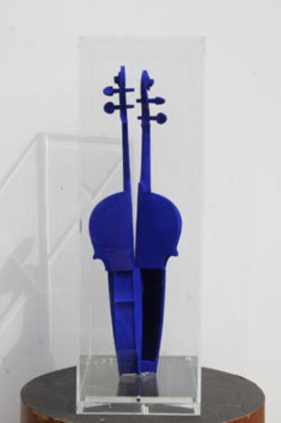 Arman, 'Hommage à Yves Klein', 1992