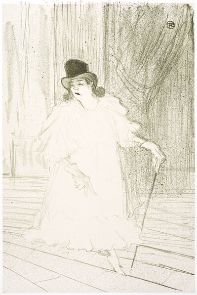 Henri de Toulouse-Lautrec, 'Cecy Loftus', 1895