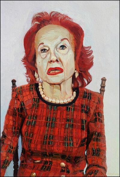 Laura Alexander, 'Olivia, Plaid', 2004