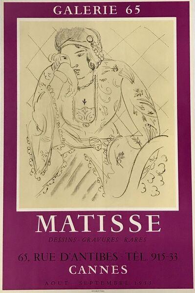 Henri Matisse, 'MATISSE Dessins- Gravures Rares', 1955