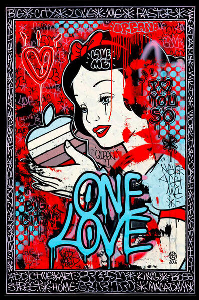 Speedy Graphito, 'ONE LOVE', 2018
