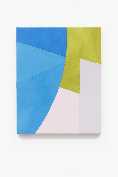 Sarah Crowner, 'Hanging Blues', 2019