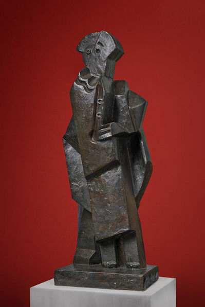 Jacques Lipchitz, 'Harlequin with Clarinet', 1920