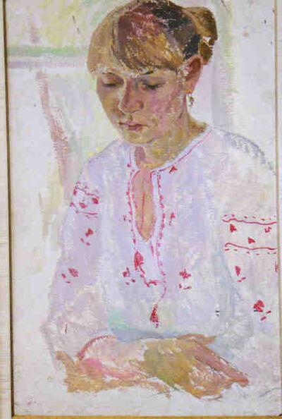 Alexander Petrovich Perov, 'Daughter', ca. 1976