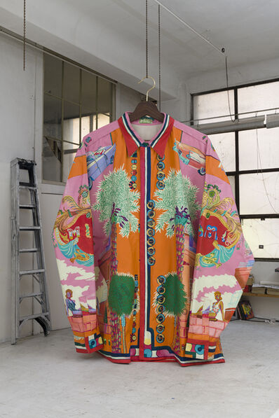 Andy Dixon, 'Miami Versace Shirt', 2019