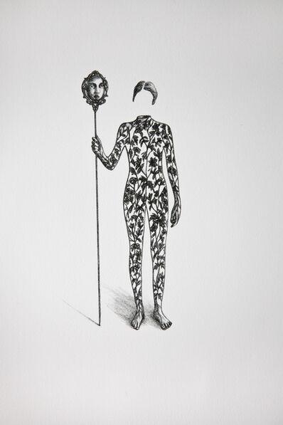 Véronique La Perrière M., 'L'envers du miroir', 2017