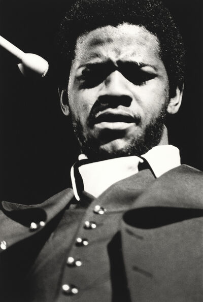 Ernest Withers, 'Al Green, Mid-south Coliseum, August 1973', printed later
