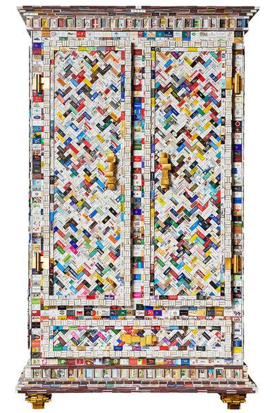Diederik Schneemann, 'Matchbox King cupboard', 2019