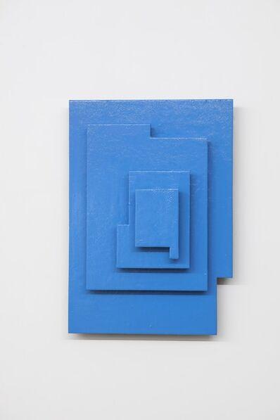 Kishio Suga, '重ねられた単体', 2000