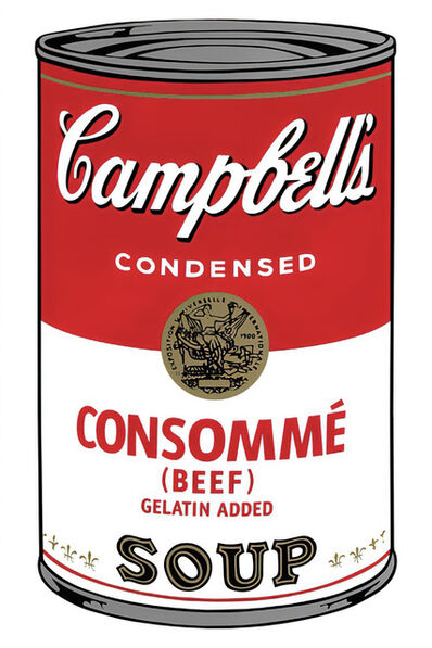 Andy Warhol, 'Campbell's Soup Can 11.52 (Consommé)', 1960s printed after