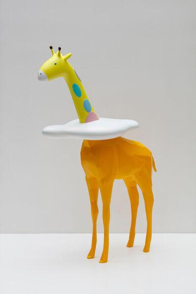 noh jun, 'Sky High – Cloud Giraffe Rudi', 2018