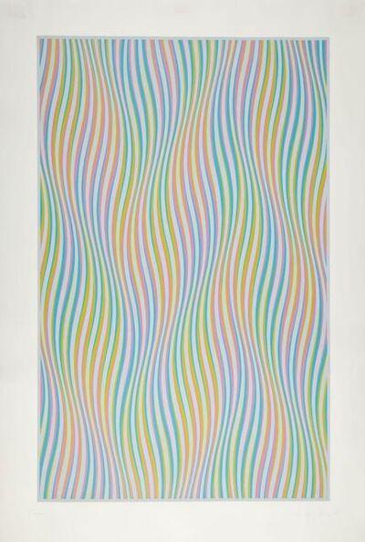 Bridget Riley, 'Elapse', 1982
