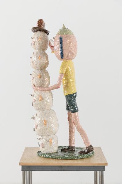 Joakim Ojanen, 'Finishing Touch on New Sculpture', 2018