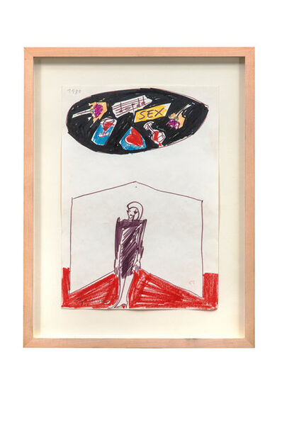 Elvira Bach, 'Ohne Alibi', 1980