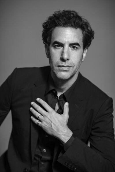 Russell James, 'Sacha Baron Cohen - Black Suit', 2020