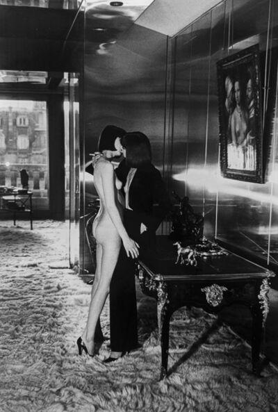 Helmut Newton, 'Mannequins Quai D'Orsay, Paris', 1977