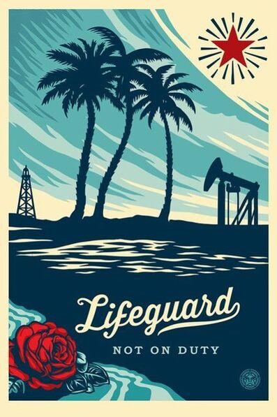 Shepard Fairey, 'Lifeguard not of duty', ca. 2019