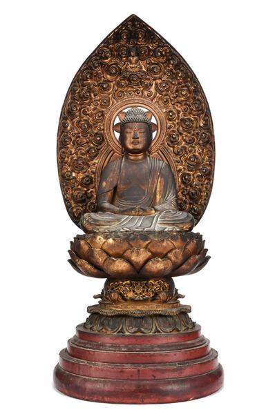 NON NAME, 'Statue of Buddha  18 0799', ca. 1800~