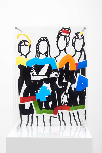 Peter Nowotny, 'Four Girls', 2014