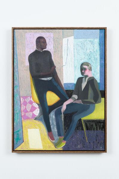 Sverre Bjertnæs, 'Two painters', 2018