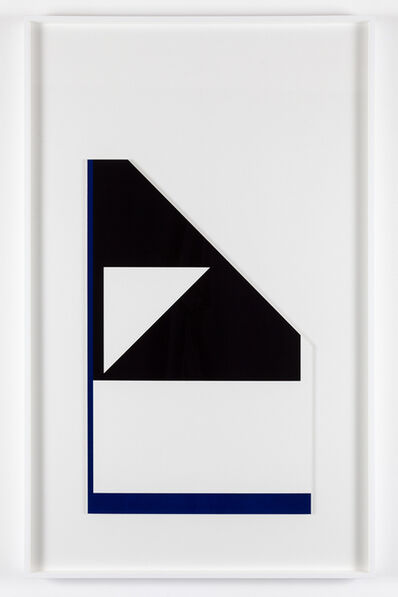 Peter Saville, ''Diagonal reflex edge' (from the 'metalanguage' series) ', 1980-2015