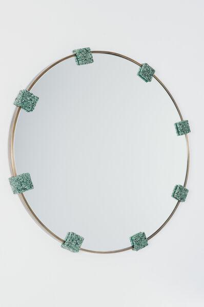 AMOIA Studio, 'Brazilian Aventurine Mirror', 2016