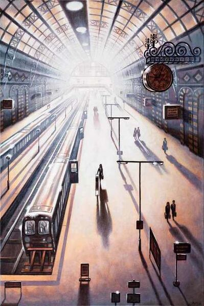 John Duffin, 'Arrival 2 - King's Cross Station', 2018