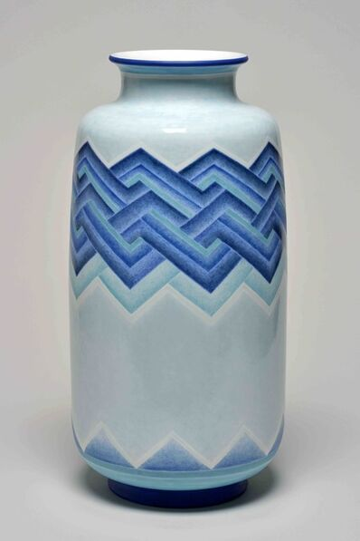 Sèvres Porcelain Manufactory, 'Aubert 19 Vase (decor of Richard 78-32 01-2)', 1932